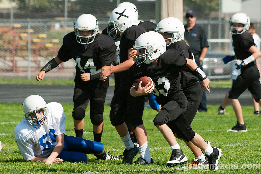 Vale vs Nyssa at Ontario High School in Ontario, Oregon on September 29, 2012.