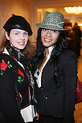 l to r: Jennifer Ouellett and Hillary Urena at the Billboard's 3rd Annual Women in Music Breakfast held at St. Regis Hotel held on October 24, 2008..The Women in Breakfast was established to recognize extraordinary women in the music industry whii have made significant contributions to the business and who, through their hard work and continued success, inspire generations of women to take on increasing responsibilities within the field.