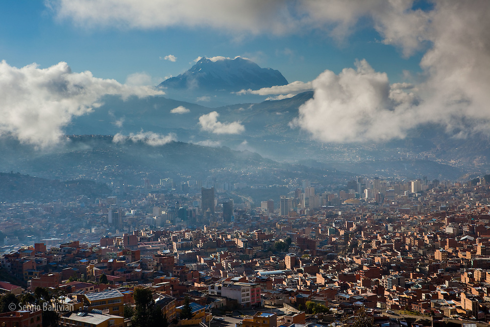 Bolivian Andes Mountains