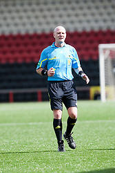 Referee Craig Charleston..Airdrie United 1 v 5 Cowdenbeath, 20th August 2011..© pic : Michael Schofield.