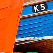 Fishing boats at Stromness Orkney Islands Scotland