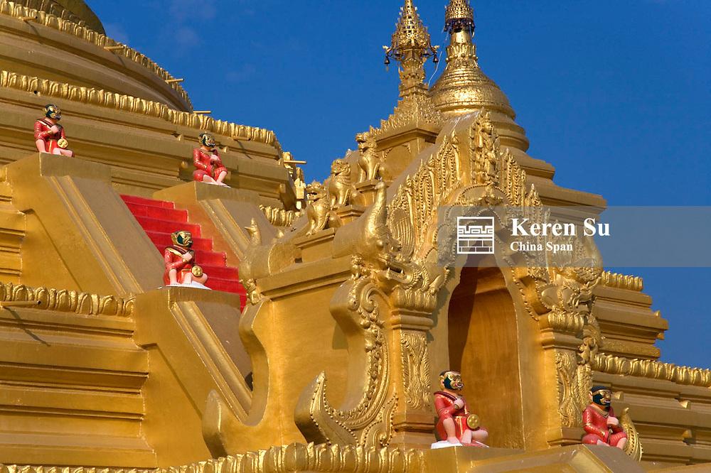 Sandamani Temple, Mandalay, Myanmar