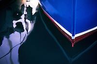 Blue Fishing Boat, Spain