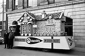 1963 - Jacob's Biscuits float for the St. Patrick's Day Parade