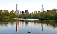 Mirror in Central Park, New York City.