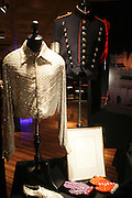 """Atmosphere at Exclusive Media Preview for Highlights from the Michael Jackson: """" King of Pop """" featuring Michael Jackson's iconic right hand glove completely covered in Swarovski crystals worn by the """" King of Pop """" in his legendary performances of  """"Billie Jean""""  held at The Hard Rock Cafe New York at Times Square on March 24, 2009 in New York City"""
