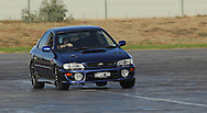 Brenton Homer.Subaru Impreza WRX.SAU Deca Motorkhana sponsored by Micolour.Shepparton, Victoria .23rd of May 2009.(C) Joel Strickland Photographics.Use information: This image is intended for Editorial use only (e.g. news or commentary, print or electronic). Any commercial or promotional use requires additional clearance.