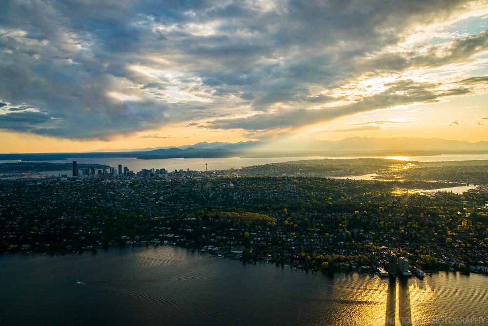 Lake Washington @ Sunset, Seattle
