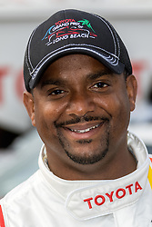 LONG BEACH, CA - APRIL 5  American actor, television director, dancer, and game show host Alfonso Ribeiro participates in media day for Pro/Celebrity Race at Toyota Grand Prix of Long Beach on 2016 April 5, in Long Beach, California. Byline, credit, TV usage, web usage or linkback must read SILVEXPHOTO.COM. Failure to byline correctly will incur double the agreed fee. Tel: +1 714 504 6870.