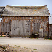 This rustic barn on the Pacific Coast Highway.