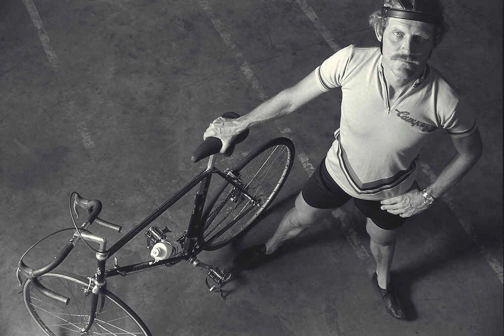 John Howard, The First Iron Man Triathlon (1981). Shot in Houston, TX. He is in the Cycling Hall Of Fame and of the UltraCycling Hall of Fame. He has authored four books and numerous articles on cycling.<br />