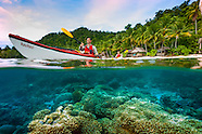 Kayaking the Raja Ampat Archipelago of West Papua, Indonesia