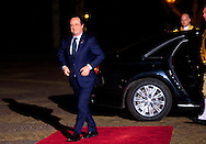 24-3-2014 THE HAGUE  - Arrival of Francois HOllande for the NSS summit  diner at the Palace Huis ten Bosch . COPYRIGHT ROBIN UTRECHT