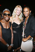 l to r: Beth Ann Hardison, Anita Patrick and Joy Bryant at The Ports 1961Show at 2008 Mercedes-Benz Fashion Week held at the Promenade on September 8, 2008