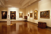 Museo de Arte de Puerto Rico exhibit of religious art; San Juan, Puerto Rico.