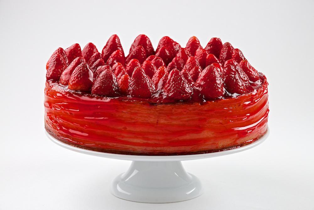 Carnegie Deli's Whole Strawberry Cheese Cake