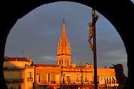 France, Languedoc Roussillon, Hérault, Montpellier, centre historique, l'Ecusson, église Ste Anne