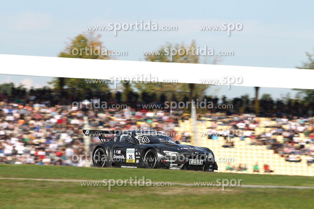 30.09.2012, Hockenheimring, GER, ADAC GT Masters, Weekend Saisonfinale, Hockenheim, Rennen, im Bild C.HUERTGEN/ D.SCHWAGER // during Race of Weekend Saisonfinale of the ADAC GT Masters serie at Hockenheimring, Germany on 2012/09/30. EXPA Pictures © 2012, PhotoCredit: EXPA/ Eibner/ Alexander Neis..***** ATTENTION - OUT OF GER *****