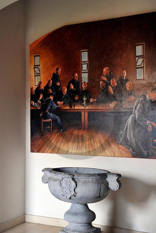 14/03/11 - RANDOL - PUY DE DOME - FRANCE - Monastere et Prieure de RANDOL. Appartenant a la congregation de Solesmes, l abbaye a garde les traditions liturgiques gregorienne et des 1984 a profite de l'indult envers le rite de Saint Pie V. Elle depend à ce titre de la commission Ecclesia Dei depuis 1988 - Photo Jerome CHABANNE