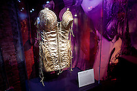Madonna outfit on display at The Rock and Roll Hall of Fame Annex in New York City..(Photo by Robert Caplin)..