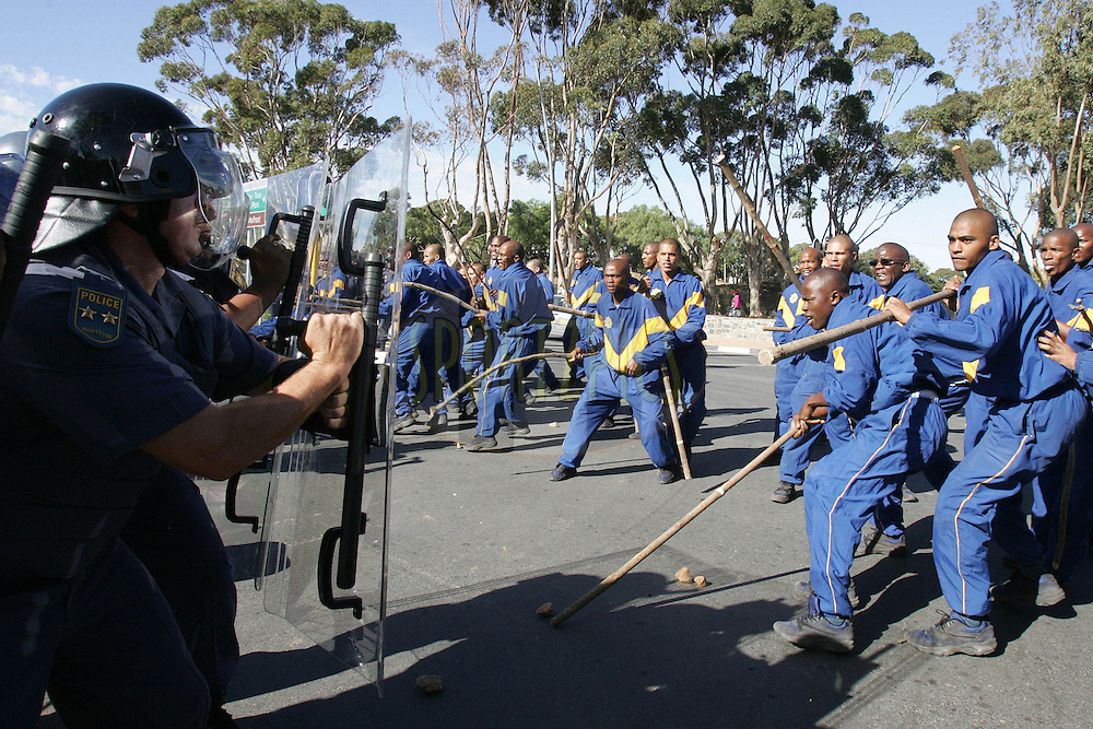 south african police service training