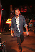Bilal performs at The 2008 Black August Benefit Concert held at BB Kings on August 31, 2008..2008 begins the second decade of Black August Hip Hop Project benefit concerts which assist and support Political Prisoners. The Malcolm X Grassroots Movement is an organization whose mission is to defend the human rights of people and promote self-determination in our community.