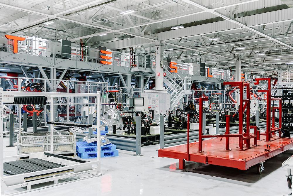 Tesla Factory in Fremont, CA   Lufthansa Magazine