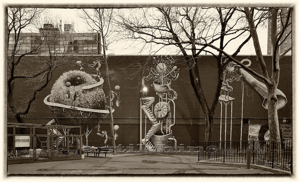 Playground on West Side Manhattan.
