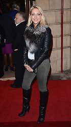 Ali Bastin attends Memphis Press Night at The Shaftesbury Theatre, Shaftesbury Avenue, London on Thursday 23rd October 2014