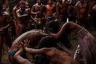 Kamayura indian village - Reserva Indigena do Xingu, Brazil, November 8 of 2012.