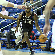 Austin Toros Guard Courtney Fells (18) drives towards the baseline in the course of a NBA D-league regular season basketball game between the Delaware 87ers (76ers) and the Austin Toros (Spurs) Monday, Jan. 27, 2014 at The Bob Carpenter Sports Convocation Center, Newark, DE