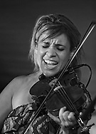 Elena James, violin and vocals in Hot Club Of Cowtown.<br /> 2010