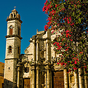 Catedral de San Cristobal de La Habana, Cathedral of Saint Christopher of Havana, grandest cathedral in Havana, Cuba.