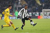 07.12.2016 - Torino - Champions League  -  Juventus-Dinamo Zagabria nella  foto:  Patrice Evra - Juventus