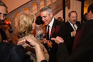 Barbara Walters talks with George Clooney at the Bloomberg Vanity Fair White House Correspondents' Association dinner afterparty at the residence of the French Ambassador on Saturday, April 28, 2012 in Washington, DC. Brendan Hoffman for the New York Times