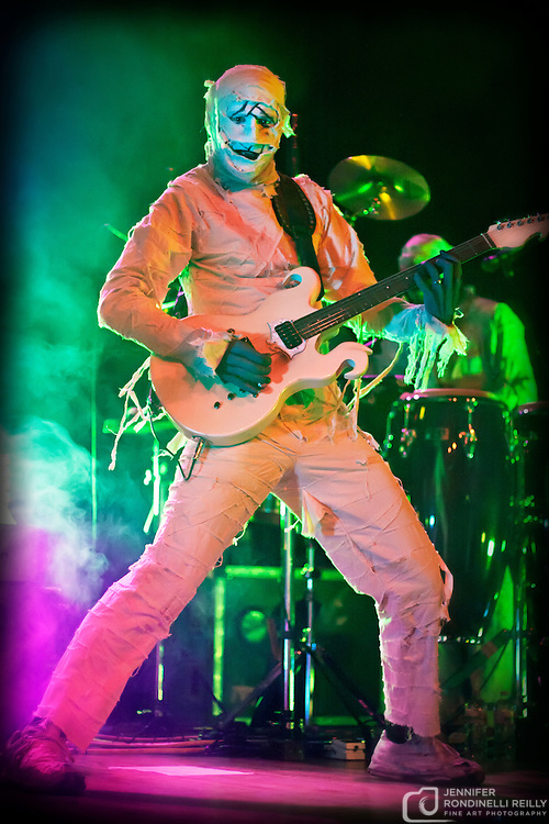Here Come the Mummies live at Turner Hall Ballroom in Milwaukee, Wi. Photo © 2011 Jennifer Rondinelli Reilly. All rights reserved.  Contact me for any reuse or licensing inquires.