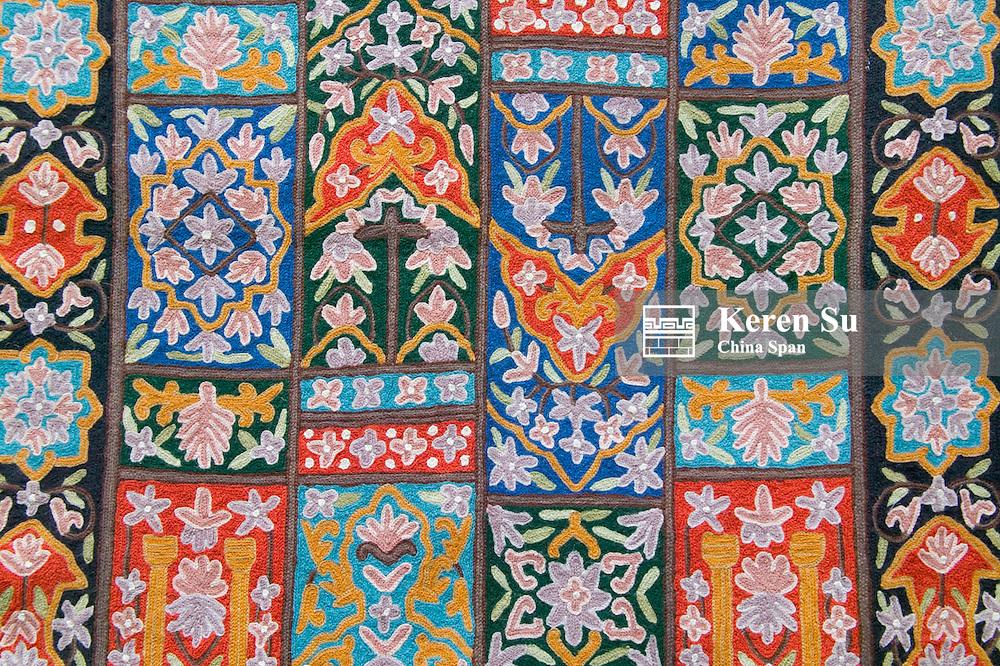 Kashmir embroidery, Ladakh, India