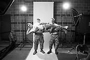 Citadel Cadet Volunteers for the Veterans Portrait Project.