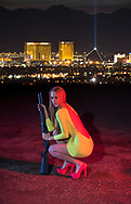 USA, Nevada, Las Vegas,American Dreamscapes Shotgun