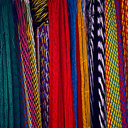 Hammocks in market. Oaxaca, Mexico.