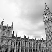 Parliment - Westminster, UK - Black & White