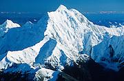 Alaska. Aerial. East of Cantwell. Mt. Hayes, 13,832 feet.