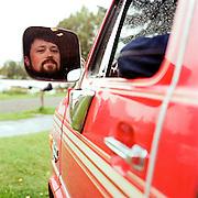SEPTEMBER 2011 - ANCHORAGE, ALASKA:  Singer songwriter Jared Woods in Anchorage, Alaska.