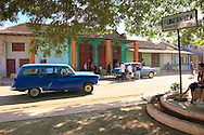 Car in Guines, Mayabeque Province, Cuba.