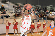 Lafayette High vs. North Pontotoc in boys high school basketball in Oxford, Miss. on Monday, February 4, 2013.