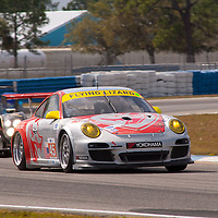 #45 Flying Lizard Motorsports Porsche 911 GT3 Cup: Nelson Canache Jr., Spencer Pumpelly, Brian Wong
