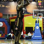 Erie BayHawks Forward and NBA veteran Ricky Davis (31) shoots a three pointer in the second half of a NBA D-league regular season basketball game between Delaware 87ers (76ers) and the Erie BayHawks (Knicks) Friday, Jan. 3, 2014 at The Bob Carpenter Sports Convocation Center, Newark, DE
