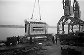 1965 Loading Goulding Plant at North Wall