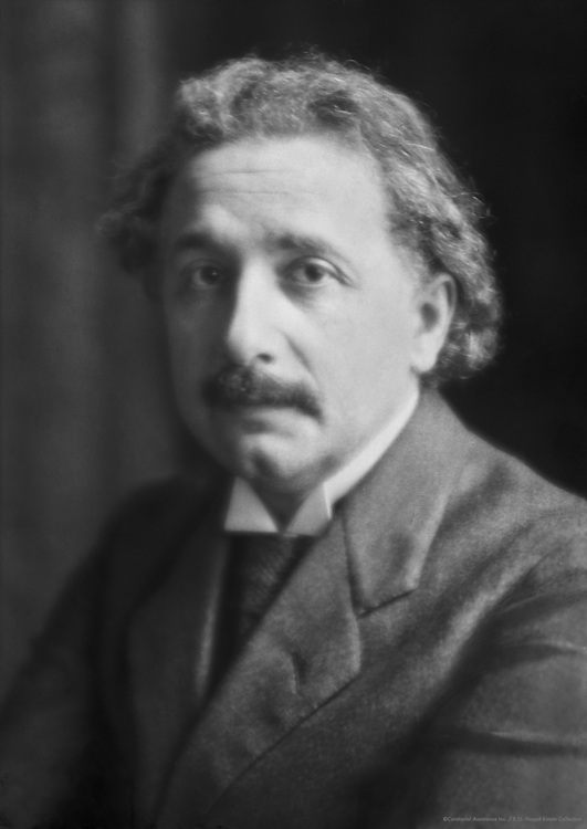 Albert Einstein, Physicist, 1921