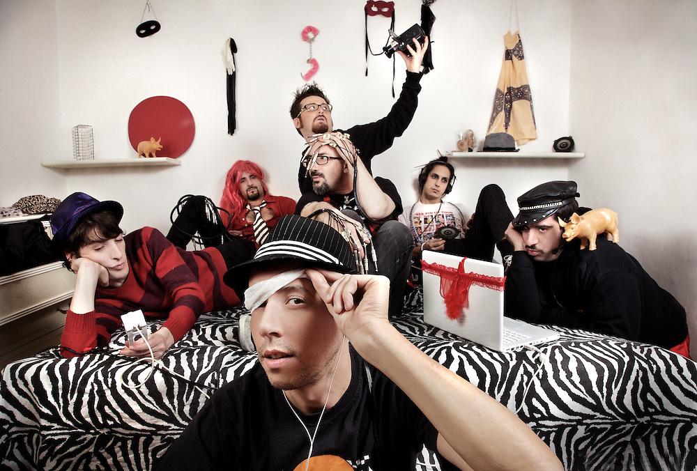 Vallanzaska, I-Porn album, Italian Band, 2009